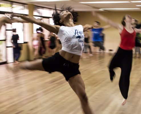 Bevøgelse og dansere.